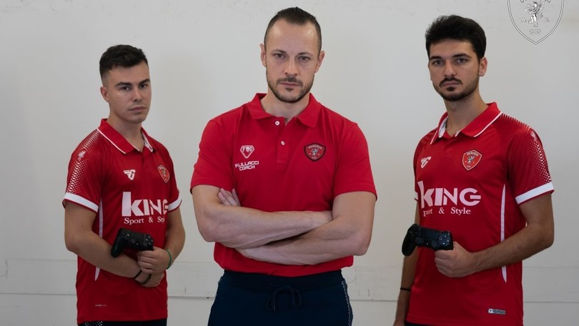 Perugia Calcio: presentata la formazione esport