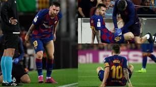Messi si fa male: a rischio l'Inter in Champions?