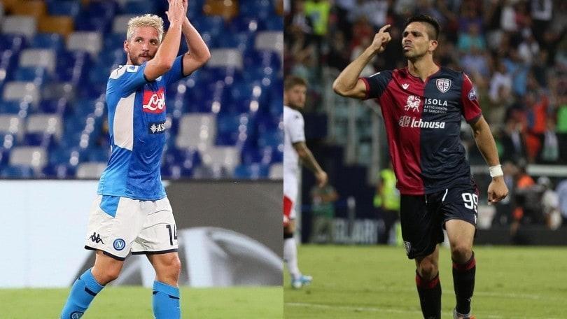 Diretta Napoli-Cagliari ore 21: formazioni ufficiali e dove vederla in tv