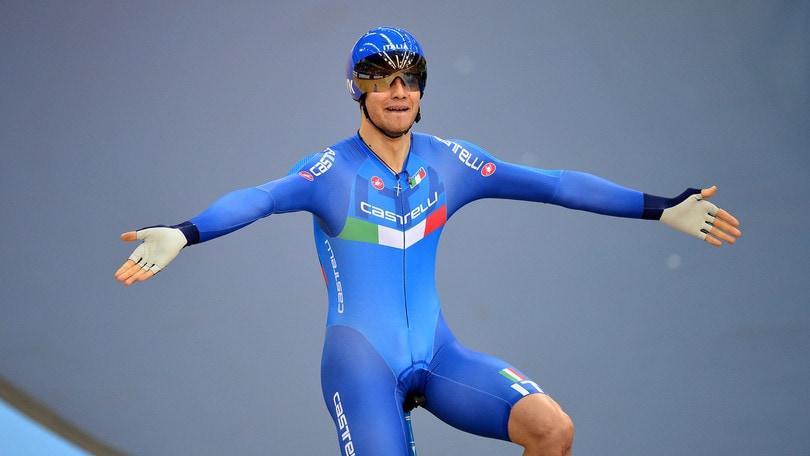 Ganna bronzo nella cronometro ai Mondiali di ciclismo. Oro a Dennis
