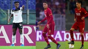Roma ko con l'Atalanta: gol di Zapata e De Roon, debutto per Smalling