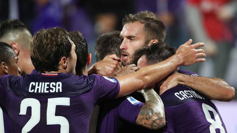 Serie A, prima vittoria per la Fiorentina. Colpo Lecce, Parma ok in extremis