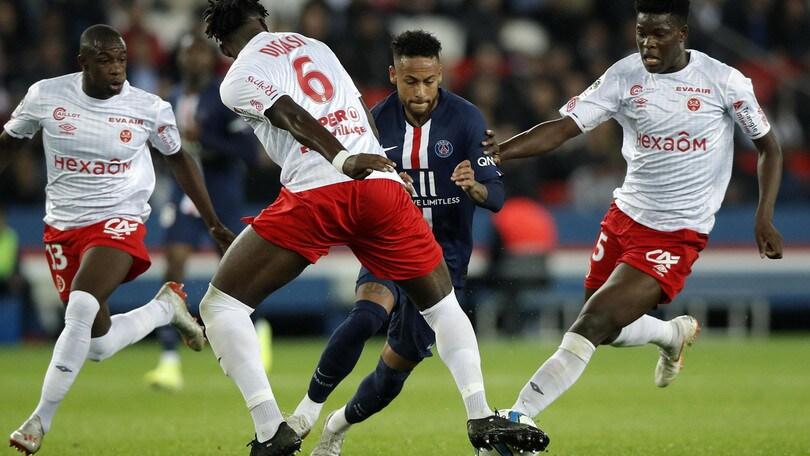 Ligue 1: Psg, clamoroso ko in casa con il Reims