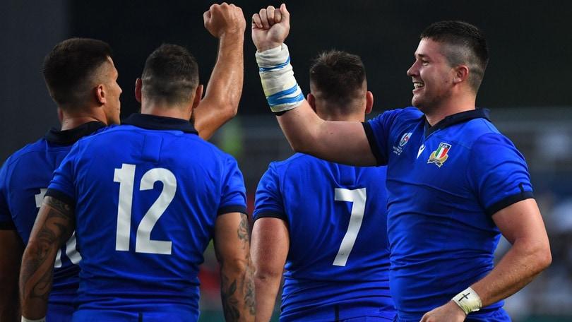 Italia a valanga sul Canada ai Mondiali di rugby: vittoria per 48-7