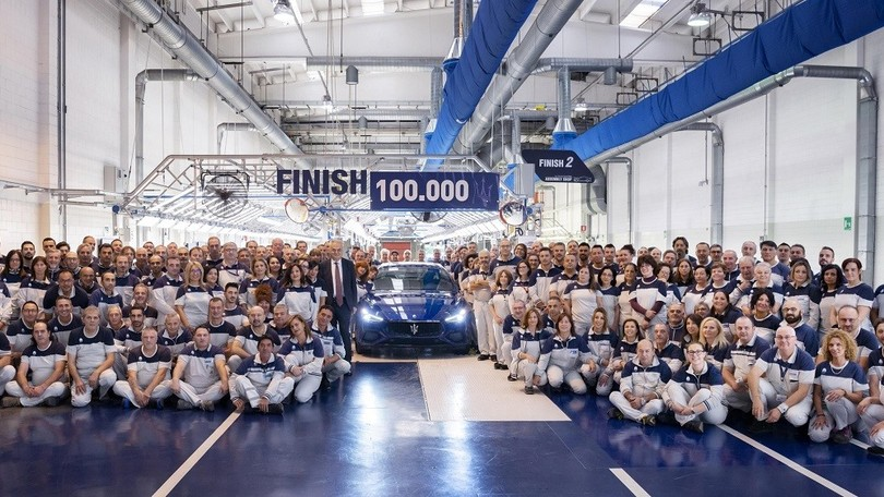 Maserati Ghibli, ecco la numero 100.000