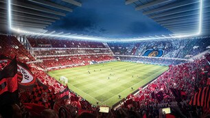 Nuovo stadio San Siro, ecco le foto dei progetti Populous e Manica