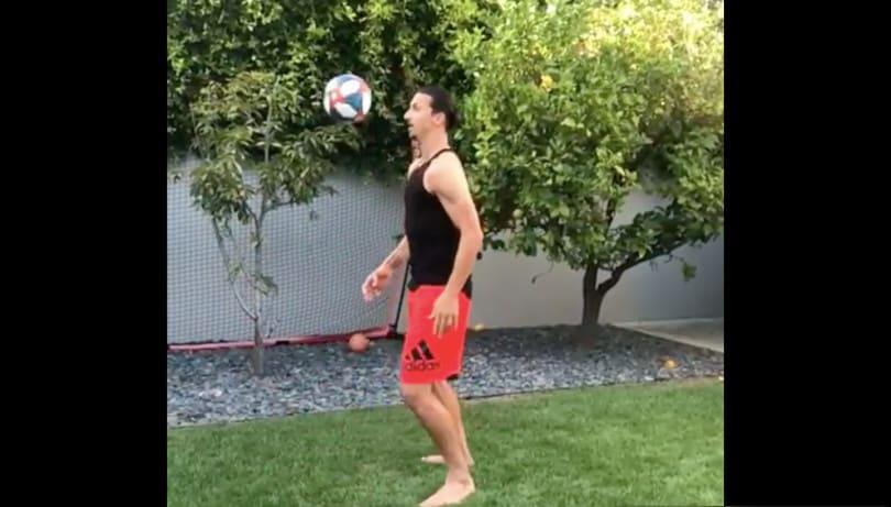 """Matrix Challenge"": Ibra lancia la sfida a Pogba"