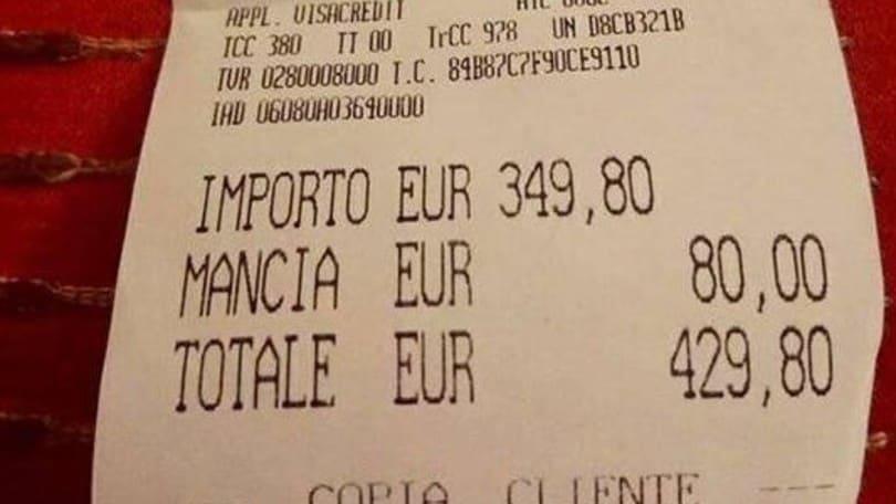 Roma, scontrino choc: 429 euro per due piatti di spaghetti