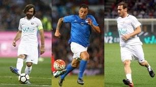 Nasce la nazionale Azzurri Legends: da Totti a Pirlo, 24 campioni