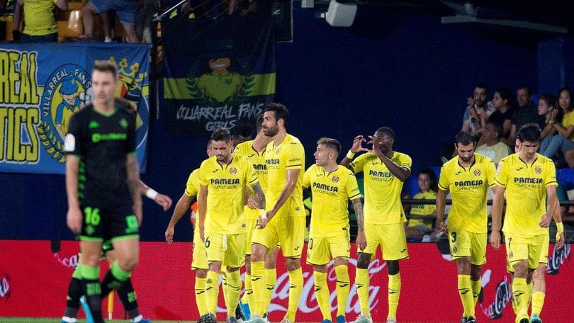 Liga: Villarreal show, che cinquina al Betis!