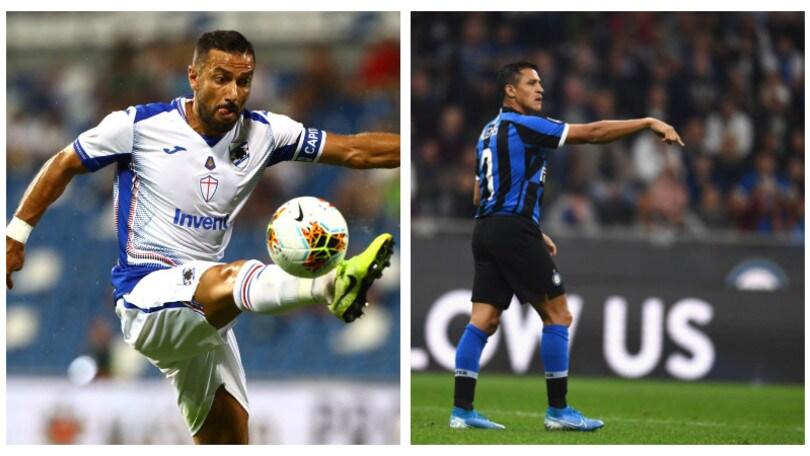 Diretta Sampdoria-Inter ore 18: formazioni ufficiali e dove vederla in tv