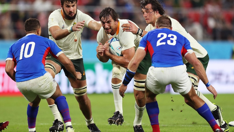 Mondiali rugby: prima vittoria per il Sudafrica, 57-3 alla Namibia