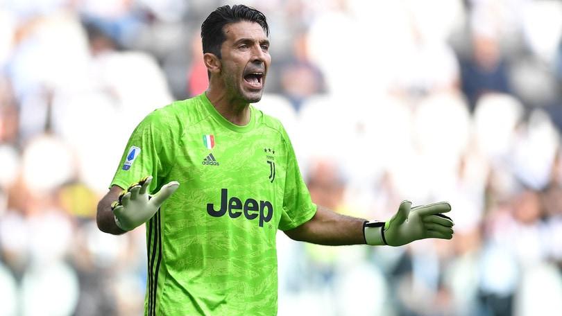 """Juve, Buffon: """"Record di presenze? La vita con me è stata benevola"""""""