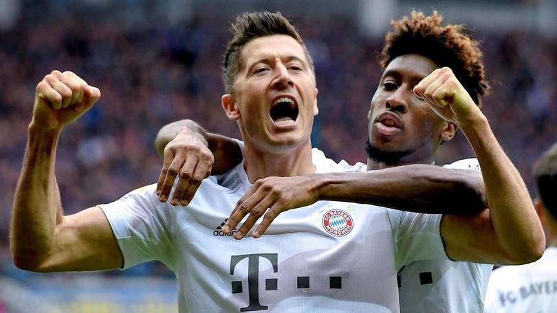 Bundesliga, il Bayern scavalca il Lipsia in vetta