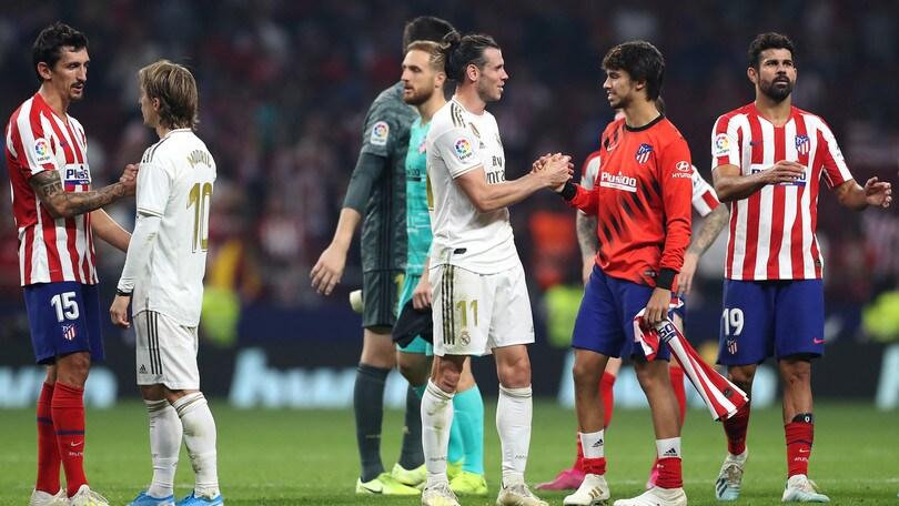 Derby di Madrid, vince la paura: niente gol fra Atletico e Real