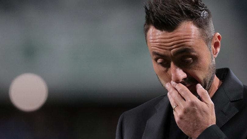 Sassuolo, allarme per De Zerbi: troppi gol subiti