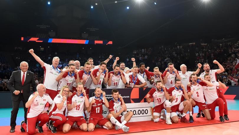 Europei Maschili: Polonia di bronzo, Francia giù dal podio