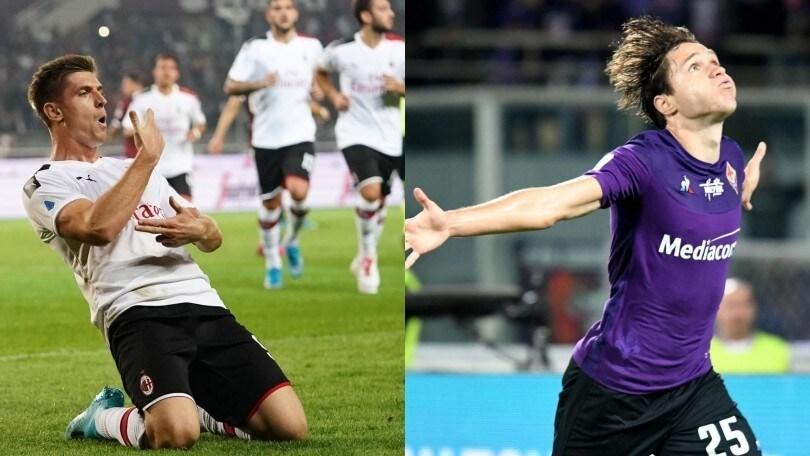 Diretta Milan-Fiorentina ore 20.45: formazioni ufficiali e come vederla in tv