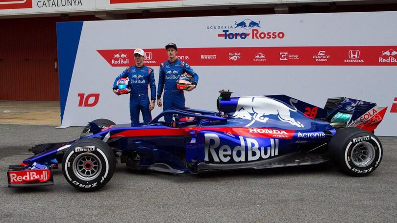 F1, la Toro Rosso prova a cambiare nome