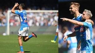 Napoli, che sofferenza! Mertens e Manolas firmano i tre punti