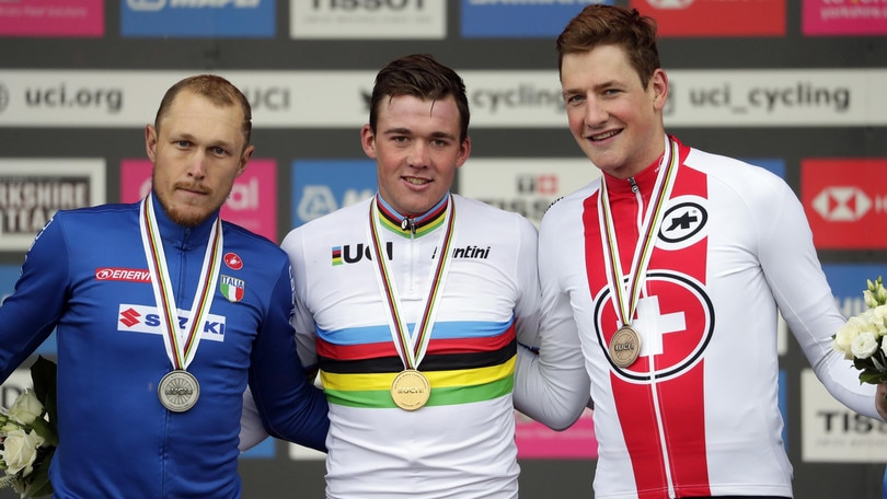 Beffa Trentin, è argento: Pedersen campione del mondo