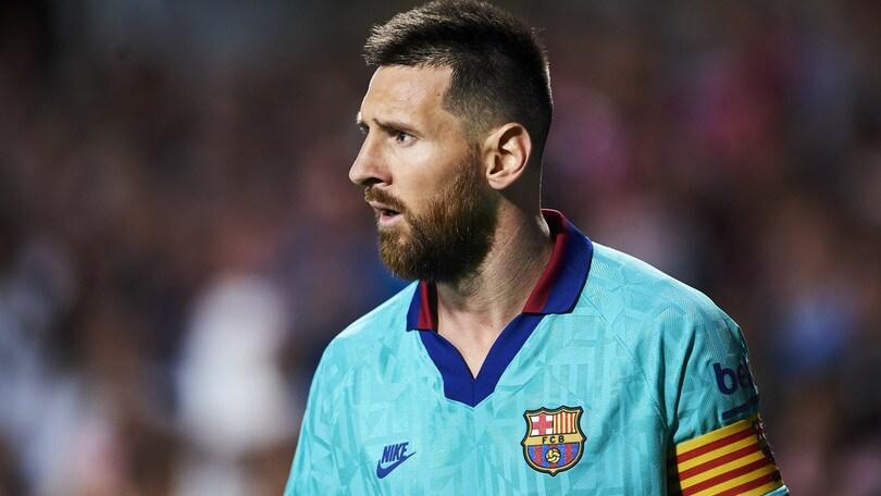 Barcellona, ottimismo Messi: in campo contro l'Inter?