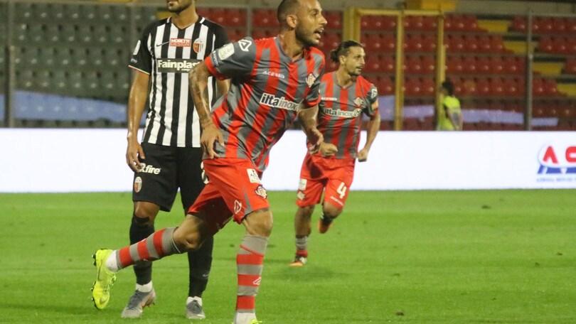 Cremonese-Ascoli 1-0: decide un eurogol di Soddimo
