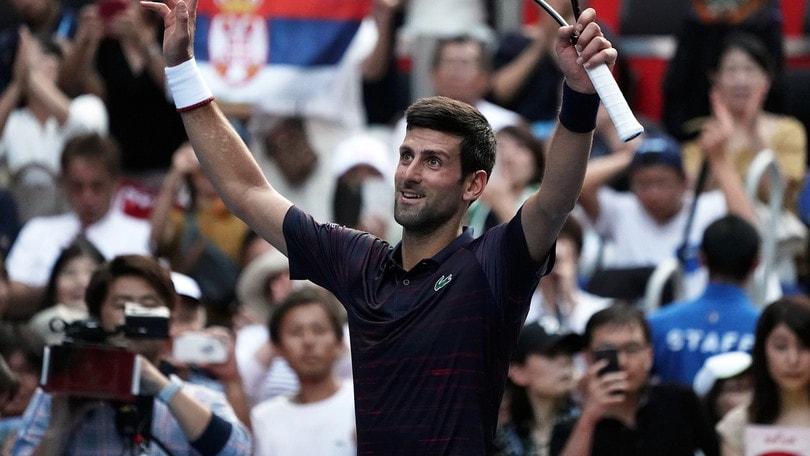 Atp di Tokyo: Djokovic vince al rientro contro Popyrin