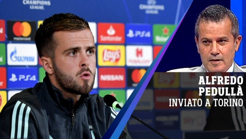 La presentazione di Juve-Leverkusen