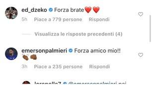Roma, i messaggi dal mondo del calcio per Lorenzo Pellegrini