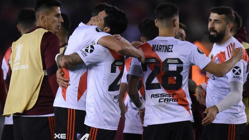 Libertadores, al River Plate il Superclasico: 2-0 al Boca, De Rossi in tribuna