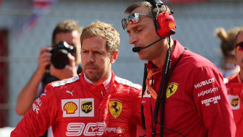 Vettel a Maranello: colloquio con Binotto