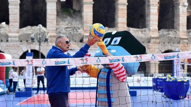 6200 bambini a Verona per Gioca Volley in Sicurezza S3