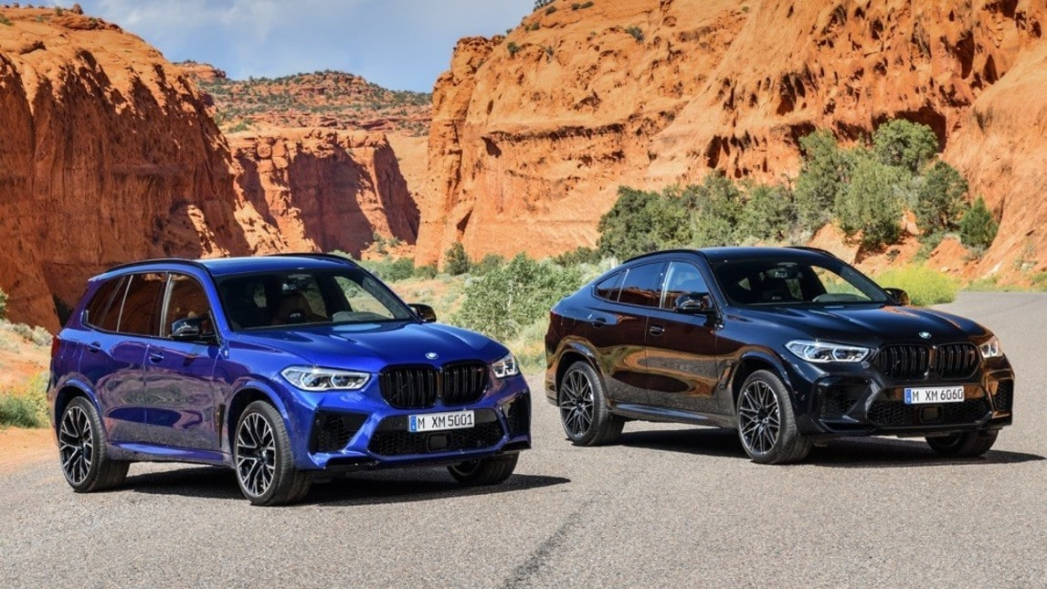 BMW X5M e X6M: gli scatti