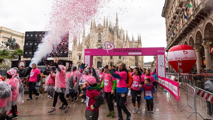 Il 6 ottobre Milano cammina in rosa con la Pittarosso Pink Parade