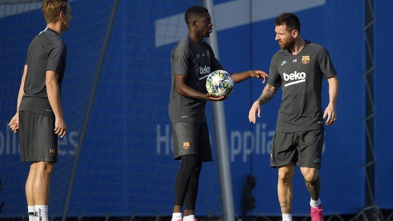 Messi titolare contro l'Inter