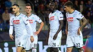 Napoli, due traverse e un palo: ma con il Genk è 0-0