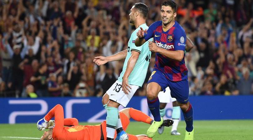Barcellona-Inter 2-1: Lautaro illude, Suarez batte Conte con una doppietta