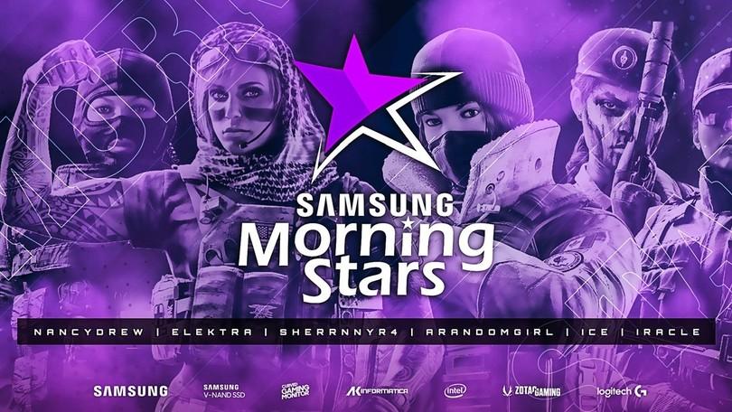 Rainbow Six Siege: intervista alle componenti del team Athena di Samsung Morning Stars