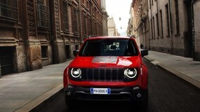 Jeep Renegade ibrida plug-in: le immagini