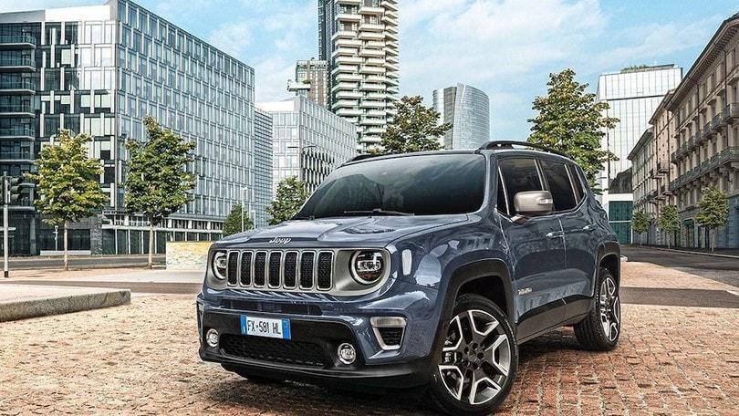 Jeep Renegade 2020, con Uconnect Box sale la connettività