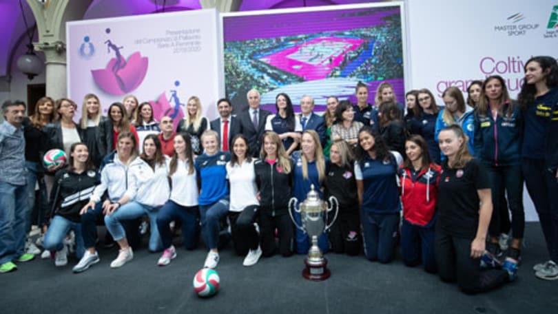 Che festa a Milano per la presentazione dei campionati femminili