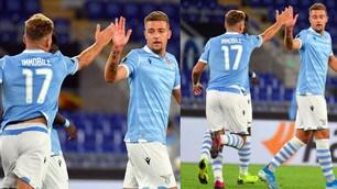 Lazio ok in Europa League, Milinkovic-Savic e Immobile ribaltano il Rennes