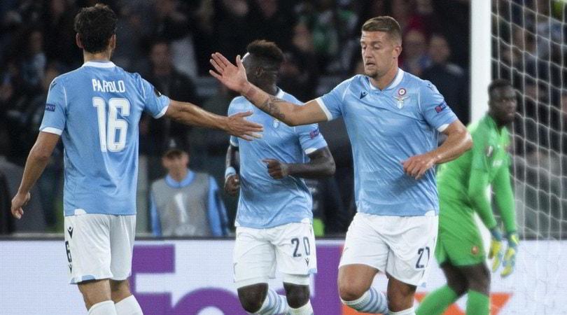 Europa League, Lazio-Rennes 2-1: Milinkovic-Savic e Immobile firmano la rimonta