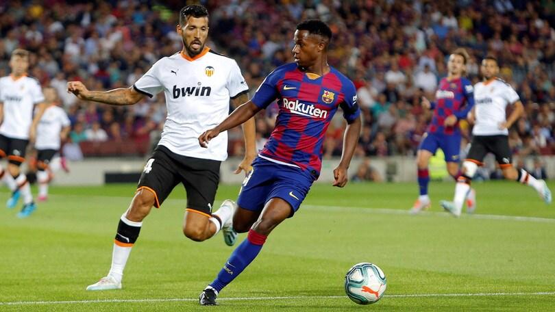 Ansu Fati rinnova con il Barcellona: la clausola rescissoria sarà da 400 milioni