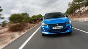 Peugeot e-208: tutte le foto della prova