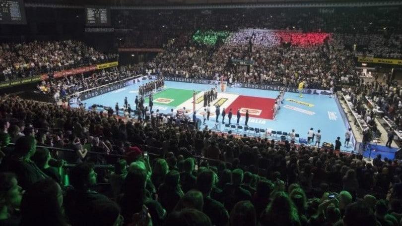 La Coppa Italia maschile torna all'Unipol Arena
