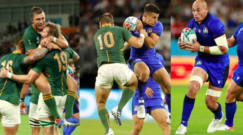 L'Italrugby lotta ma va ko: niente impresa con il Sudafrica