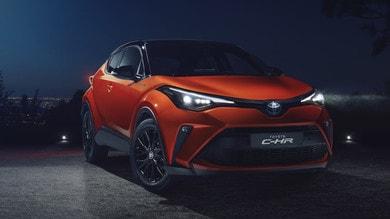 Toyota CH-R 2020, gli scatti
