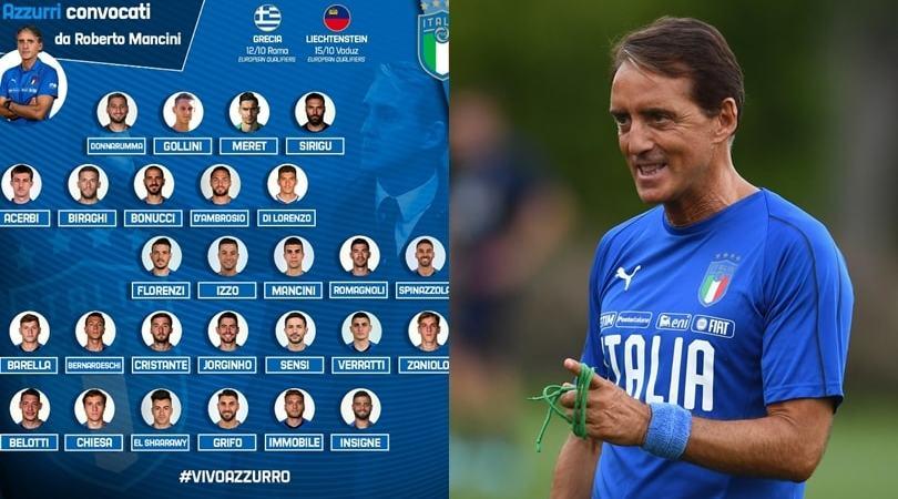 Convocati Italia: Mancini chiama Di Lorenzo, torna Zaniolo